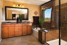 Amazing Spaces: Master Baths/Powder Rooms