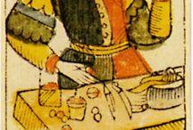 I /  Le Bateleur. El mago. the magician. Il Bagatto