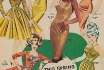 Vintage/Retro style & fashion / by Tahlee Johnson