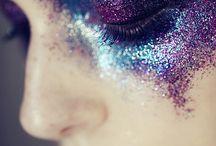 Painterly makeup