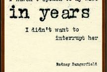 Rodney Dangerfield / by Edward Scheine