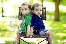 Toddler twins photoshoot