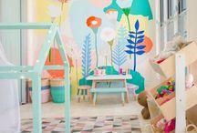 Kids Playrooms Idea's / Kids playroom idea's, play room for girls, playroom for boys