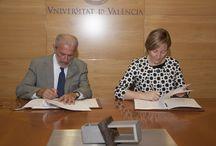 Convenio Cátedra Valencia / Firma convenio Cátedra Participación Ciudadana y Paisajes Valencianos