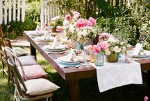 Garden Party Table Scapes and Flowers  / by Ashley Willard