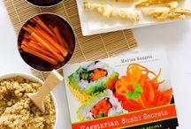 veggies sushi