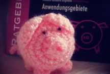 Das @haekelschwein / Meine Häkelschweinbilder  :)