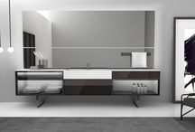 BESPOKE / antoniolupi updates their bathroom systems with a new collection of cabinets that offer complete versatility and compositional freedom. DESIGN CARLO COLOMBO