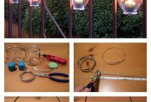 outdoor lights and DIY ♡♡♡