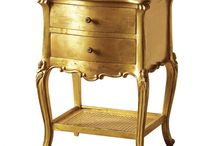 Keswick Gold Leaf Collection / Beautiful gold french furniture.