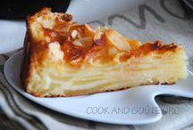 Gâteau fondant pommes abricot