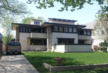Oak Park, My Home Town / I live in beautiful Oak Park, IL, home of Frank Lloyd Wright and Ernest Hemingway. / by Antonia Scatton