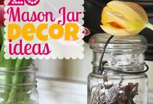 DIY: Mason Jar Ideas / by For the Mommas
