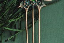 hairpins, combs, hairpins / hairpins, combs, hairpins