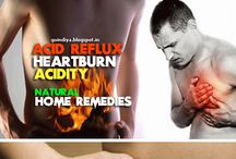 Acid Reflux-Acidity-Heartburn / Home Remedies for Heartburn, Acidity (Acid Reflux), Stomach pain, cramps in stomach, chest pain, GERD,