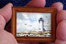 miniature painting in wcolor