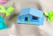 nápady pro děti - domy a domečky