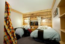 Chatter Creek Lodge / After a long day of skiing, come home to our beautiful handcrafted log building.
