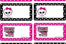 Monster High Bday party / by Tisha Wilson