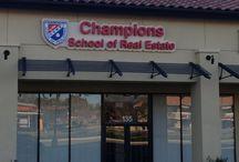 Campus Locations / Champions School or Real Estate Campus Locations