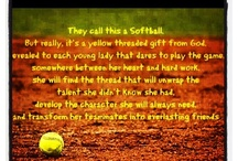 Sports.  In particular softball