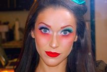 Mad Hatters makeup