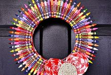 Fun With Crayons / by Laura Kiernan {JourneyChic.com}
