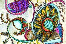 zentangles doodles