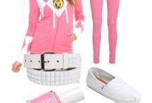 Pink Ranger DIY ideas