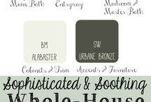 Paint Colours for the Home