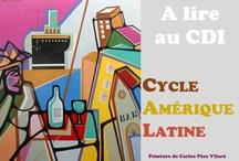 Lectures espagnoles / Les élèves de classe de première lisent et commentent des oeuvres de littérature classique et contemporaine, espagnoles et latines.