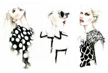 Иллюстрации мода
