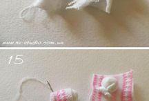 Lapins faits avec chaussettes