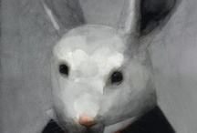 Bunny's ♥ / Lapin, rabbit, bunny, conejo / by Sara Martinez Jimenez
