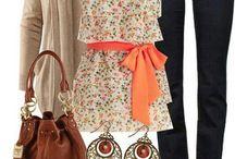 Fashion dress and shoes