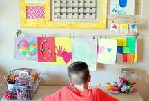 Toddler Ideas / Creative ideas