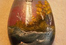 painting on rocks