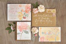 Invitation Inspiration: Watercolor Designs