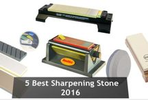 Knife Sharpening Stone / Introduce all kinds of knife sharpening stones. Get the best knife stones for your butter knives, steak knives, paring knife, bread knife, cleaver) that used in the kitchen. These are also used for hunting.  So, follow this board and read all popular pins for the best and all time popular #KnifeSharpeningStones all time.  For more: http://sharpeningmaster.com/best-knife-sharpening-stone-reviews/