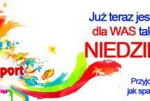 YesSport Kraków otwarty także w Niedzielę!! / Zapraszamy do nas w godz. 10.00 - 15.00.