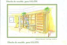 Diseño de Mobiliario  / Diseño de mobiliario para satisfacer una necesidad y que forme parte del estilo de la vivienda. Muebles que transmiten.