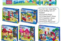 Mega Bloks Smurfs / Smurfs 2 movie started for some time already, the side products like toys, stationery etc always get popular. Our Mega Bloks Brand Smurfs Building blocks toys also sell crazy as well.