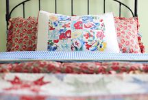 Vintage Linens / Ideas for using old linens and tablecloths in new ways
