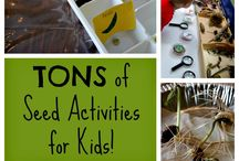 Seeds Preschool Theme / Early Years seeds theme activities and games for children.