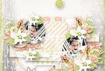 Scrapbook page 2014 -március