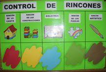 Rincones y proyectos en Infantil