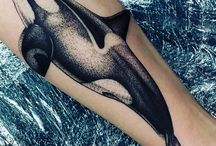 Orca Family Tattoo