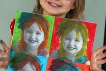 Výtvarná výchova - práca s fotkou alebo s obrázkom