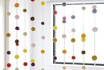 cortinas de pompom