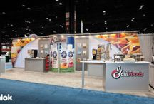 """INLINE Exhibits / In-line Booth (also called """"Linear Booth""""): An exhibit space with exhibit booths on either side and/or back."""